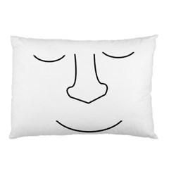 Sleeping face Pillow Case