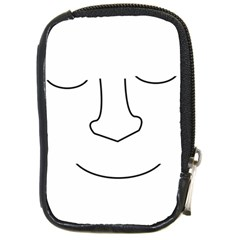 Sleeping face Compact Camera Cases