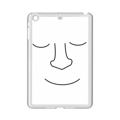 Sleeping face iPad Mini 2 Enamel Coated Cases