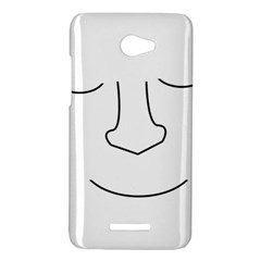 Sleeping face HTC Butterfly X920E Hardshell Case