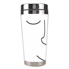 Sleeping face Stainless Steel Travel Tumblers