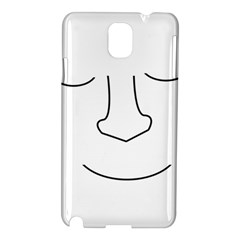 Sleeping face Samsung Galaxy Note 3 N9005 Hardshell Case