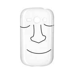 Sleeping face Samsung Galaxy S6810 Hardshell Case