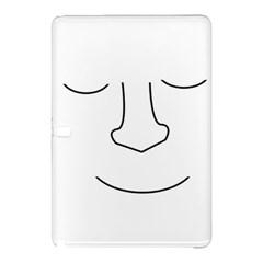 Sleeping face Samsung Galaxy Tab Pro 10.1 Hardshell Case