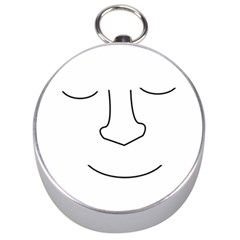 Sleeping face Silver Compasses