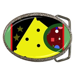 Abstract design Belt Buckles