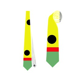 Abstract design Neckties (One Side)