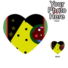 Abstract design Multi-purpose Cards (Heart)