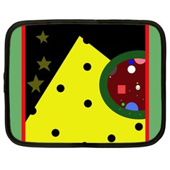 Abstract design Netbook Case (Large)