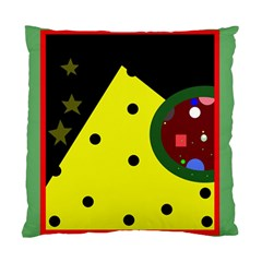 Abstract design Standard Cushion Case (One Side)