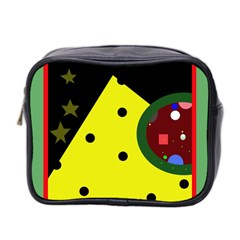 Abstract design Mini Toiletries Bag 2-Side