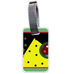 Abstract design Luggage Tags (One Side)