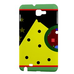 Abstract design Samsung Galaxy Note 1 Hardshell Case