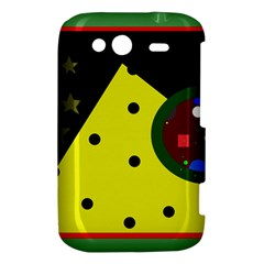 Abstract design HTC Wildfire S A510e Hardshell Case