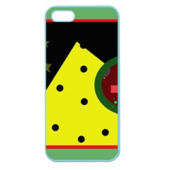 Abstract design Apple Seamless iPhone 5 Case (Color)
