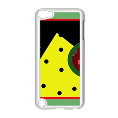 Abstract design Apple iPod Touch 5 Case (White)
