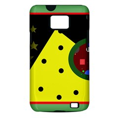 Abstract design Samsung Galaxy S II i9100 Hardshell Case (PC+Silicone)