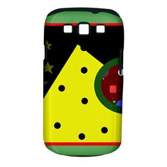 Abstract design Samsung Galaxy S III Classic Hardshell Case (PC+Silicone)