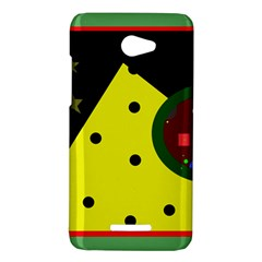 Abstract design HTC Butterfly X920E Hardshell Case