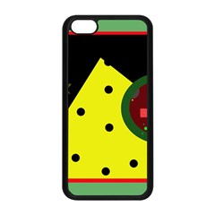 Abstract design Apple iPhone 5C Seamless Case (Black)