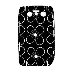 Black and white floral pattern Bold 9700