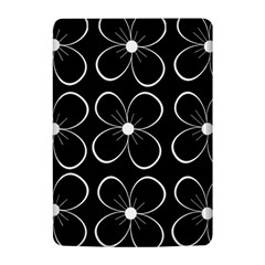 Black and white floral pattern Kindle 4