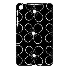 Black and white floral pattern Nexus 7 (2013)