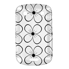 White flowers pattern Bold Touch 9900 9930