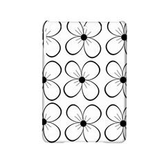 White flowers pattern iPad Mini 2 Hardshell Cases