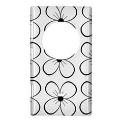 White flowers pattern Nokia Lumia 1020