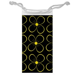Yellow flowers Jewelry Bags