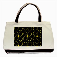 Yellow flowers Basic Tote Bag