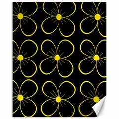 Yellow flowers Canvas 16  x 20