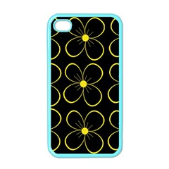 Yellow flowers Apple iPhone 4 Case (Color)