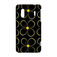 Yellow flowers HTC Evo Design 4G/ Hero S Hardshell Case