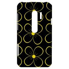 Yellow flowers HTC Evo 3D Hardshell Case