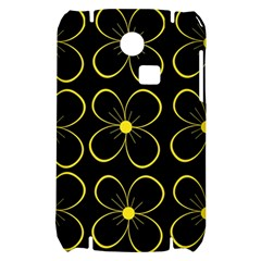 Yellow flowers Samsung S3350 Hardshell Case