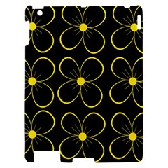 Yellow flowers Apple iPad 2 Hardshell Case