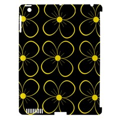 Yellow flowers Apple iPad 3/4 Hardshell Case (Compatible with Smart Cover)