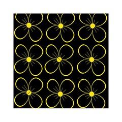 Yellow flowers Acrylic Tangram Puzzle (6  x 6 )