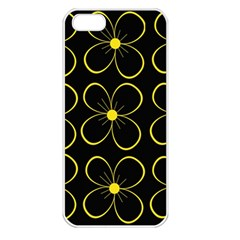 Yellow flowers Apple iPhone 5 Seamless Case (White)