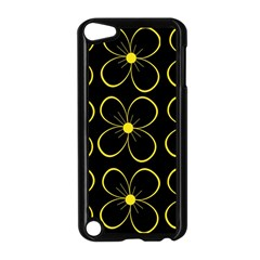 Yellow flowers Apple iPod Touch 5 Case (Black)