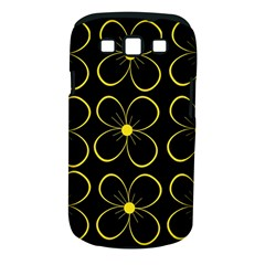 Yellow flowers Samsung Galaxy S III Classic Hardshell Case (PC+Silicone)