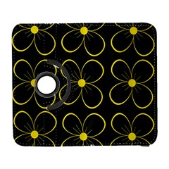 Yellow flowers Samsung Galaxy S  III Flip 360 Case