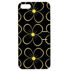 Yellow flowers Apple iPhone 5 Hardshell Case with Stand
