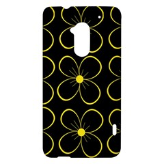 Yellow flowers HTC One Max (T6) Hardshell Case