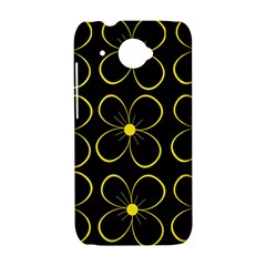 Yellow flowers HTC Desire 601 Hardshell Case