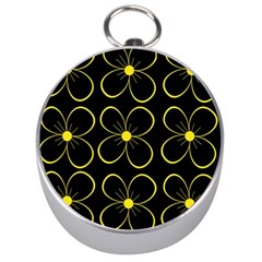 Yellow flowers Silver Compasses