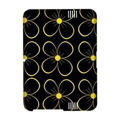 Yellow flowers Amazon Kindle Fire (2012) Hardshell Case