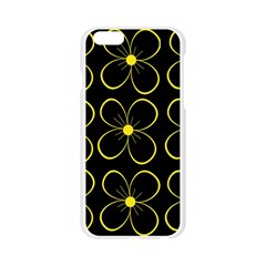 Yellow flowers Apple Seamless iPhone 6/6S Case (Transparent)